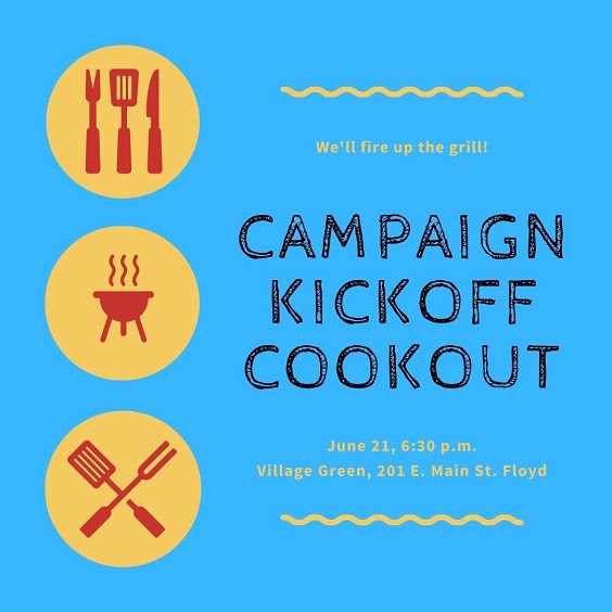 2021 Campaign Kickoff Cookout